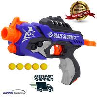 Toy Gun Pistol Elite Soft Balls Bullets Darts Strike Gift For Kids Game Play