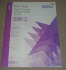Four Star Sight Reading and Ear Tests The Royal Conservatory 3 Bk/Online Book