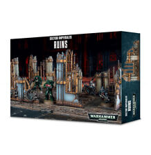 Warhammer 40k Terrain / Scenery Sector Imperialis: Ruins Free Shipping 64-39