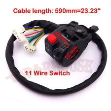 4 Function 11 Wire ATV Hand Switch Control Choke Lever 50 110 125 150 200 250 cc
