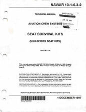 Aircraft Ejection Seat Seat Survival Kits (SKU series) Flight Manual -CD Version