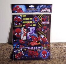 Marvel Ultimate Spider-Man Hot Stamp Stickers Sheet NEW