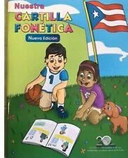 NUESTRA CARTILLA FONETICA / FREE SHIPPING/ PUERTO RICO