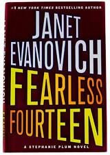 JANET EVANOVICH Fearless Fourteen SIGNED BOOK 1st Edition HC Stephanie Plum #14