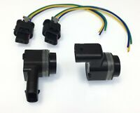 2x Parking Aid Reversing Reverse PDC Sensor + Harness for Peugeot 2008 On 682