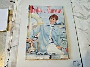 Magazine Modes & Travaux Août 1958