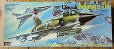 REVELL 1/32  MIRAGE III  E.S.R.RS  H-185  REVELL GERMANY 1981
