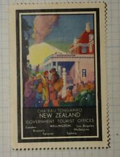 Chateau Tongariro New Zealand Gov Offices Ww Tourism Poster Stamp
