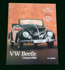 VW BEETLE CONVERTIBLE - Special Coleccion Autos Clasicos # 11 Classic Cars Book