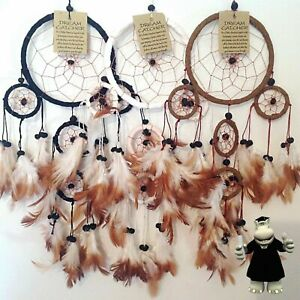 DREAM CATCHER GIRLS BOYS DREAMCATCHER SUEDE LEATHER MANY COLOURS PARTY BAG ITEMS