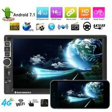 "16G 7"" Car GPS MP5 Player Touch Android 7.1 2Din Bluetooth Stereo Video FM"