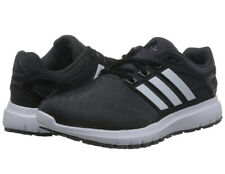 Adidas Energy Cloud running shoes men's size 10.5 black white