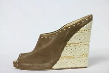 GIUSEPPE ZANOTTI SHOES sandal wedges suede slides 41