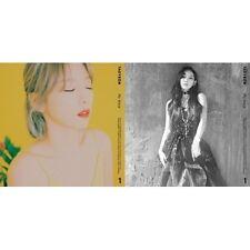 GIRLS GENERATION TAEYEON - [MY VOICE] 1st Album CD+56p Photo Book+1p Card Sealed