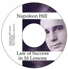 Napoleon Hill - The Law of Success in Sixteen Lessons Audio MP3 and PDF on 1 DVD