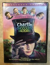 New Charlie and the Chocolate Factory Dvd 2005 Widescreen Edition Johnny Depp