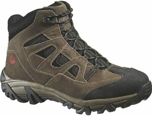 Wolverine Mens CULLEN MID Steel Toe EH Work Hiking Safety Brown Suede Boots