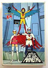 1979 Dalmau GATCHAMAN 2 VINTAGE PUZZLES BOXED!!! G Force / Battle planets VHTF