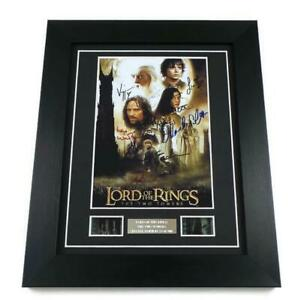 LORD OF THE RINGS FILM CELL Signed PREPRINT THE TWO TOWERS MEMORABILIA GIFTS
