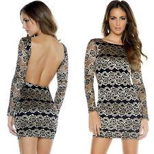 Abito ricamato nudo Trasparente aderente Metallic Print Jacquard Mini Dress