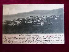 Postcard Italy, Bordighera, Ligurien, Vue générale, 1901 nach Oostende gelaufen