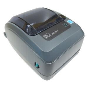 5x Zebra GK420t Etikettendrucker - Ethernet (LAN) + USB - TOP WARE OHNE NETZTEIL