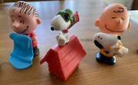 Peanuts Charlie Brown & Snoopy   McDonald's Happy Meal Collectable Toys Lot Of 6
