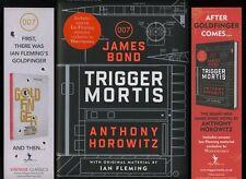 Anthony Horowitz - Trigger Mortis: A James Bond Novel; SIGNED 1st/1st