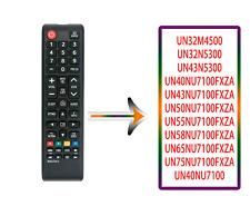 BN59-01301A Replace for Samsung TV Remote UN43NU7100 UN50NU7100 UN65NU6900FXZC