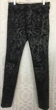 J Brand For Proenza Schouler Jean Black Painted Size 26