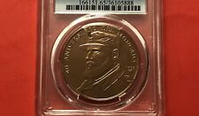 N. AMERICA-1993-UNCIRCULATED 1 PESO COINS ( MONCADA ),GRADED BY NGC MS65 RD.RARE