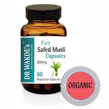 Safed Musli Capsule di DR WAKDE'S (Chlorophytum borivilianum) I SPEDIZIONE GRATU
