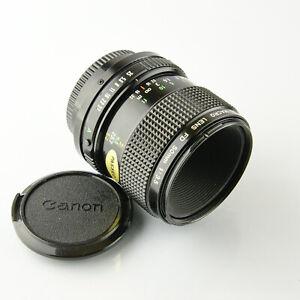 Canon 50mm f3.5 Macro Lens  - Canon FD