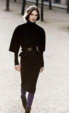 Christian Dior Boutique by John Galliano Black Pencil Skirt