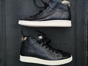 Adidas Boots Stan Smith HI MID S77452 Lifestyle Sneaker Schuhe Schwarz Gr.36 2/3