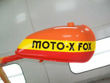 "Moto-X Fox Tank 13"" Long Decals Stickers Vintage Motocross AHRMA RM 125 250 370"