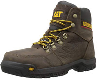 Caterpillar Men's Outline Steel Toe Work Boot,Seal Brown P90803 NIB