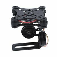 New 2-axis Brushless Camera Mount FPV Stabilized Gimbal with Controller&Ties