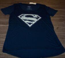 WOMEN'S TEEN DC COMICS SUPERMAN T-shirt SMALL NEW w/ TAG