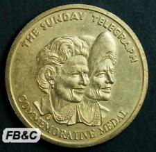c2000 Sunday Telegraph Queen Mother Commemorative Medal