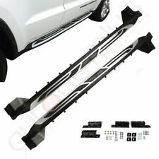 Fits 2011-2019 Jeep Grand Cherokee Side Step Style Nerf Bars Running Board