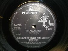 "Cilla Black - Surround Yourself With Sorrow 7"" - Plays EX!"