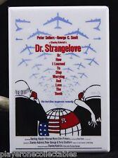 """Dr. Strangelove Movie Poster 2"""" x 3"""" Fridge / Locker Magnet. Peter Sellers"""