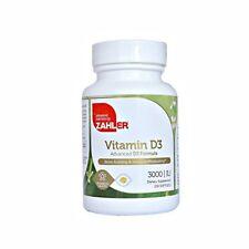 Vitamin D3 3000IU 250 Softgels 1 Daily - Zahler All Natural Vitamin D3