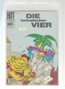 Hit Comics Nr. 4 Die fantastischen Vier BSV Serie ab 1966  ( 1 )