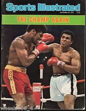 Sports Illustrated 1978 Muhammad Ali vs. Leon Spinks No Label Excellent