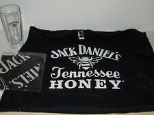 JACK DANIEL'S  TENNESSEE HONEY TEE SHIRT (L) , JD BANDANA & JD HI BALL TUMBLER
