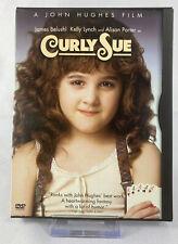 Curly Sue (DVD, 1991) Alison Porter, James Belushi Snapcase John Hughes - TESTED