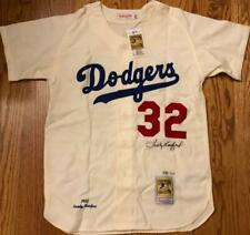 Sandy Koufax Autographed Dodgers Mitchell & Ness Jersey MLB/Fanatics Authenticat