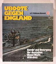 UBoote gegen England Kampf und Untergang U Boote Motorbuch